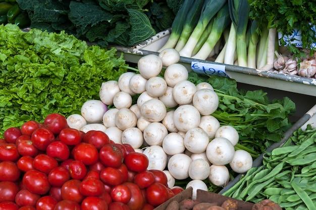 Marché de fruits et légumes à funchal