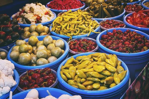 Marché paysan turc