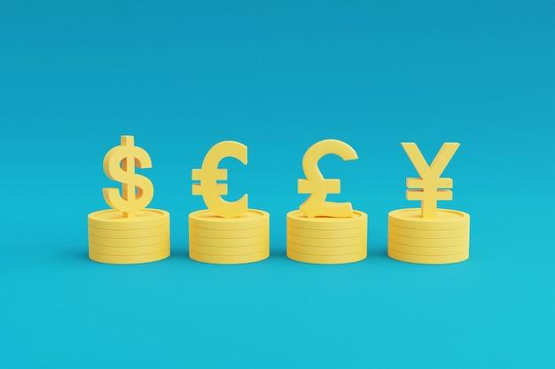 Marchés financiers et concept d'économie mondiale