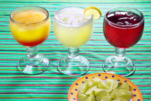 Margarita jamaica eau sexe sur la plage cocktails