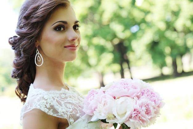 Mariée le jour du mariage