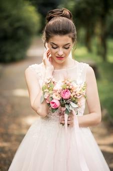 Mariée le jour de son mariage