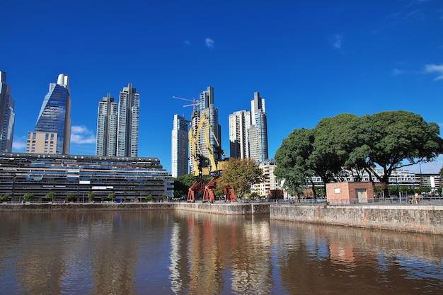 La marina de buenos aires, argentine