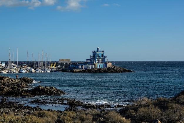 Marina del sur près de las galletas, tenerife espagne