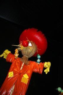 Marionnettes épouvantail grande