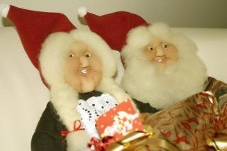 Marionnettes de noël, mme