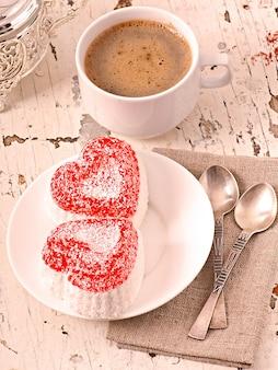Marmelade en forme de coeur