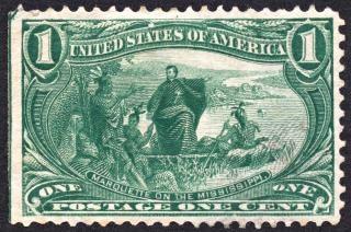 Marquette timbre vert