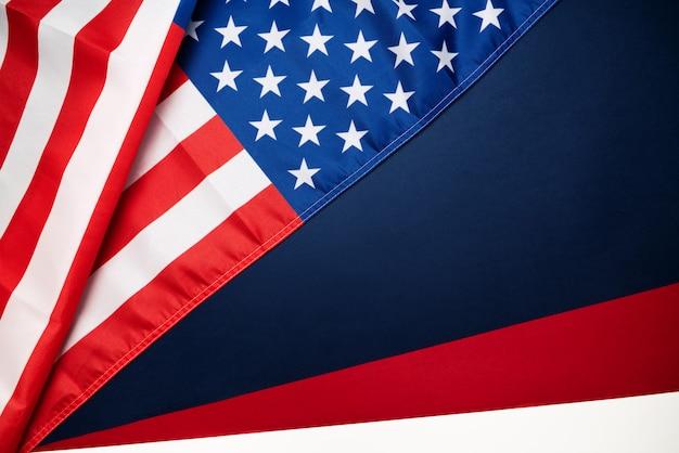 Martin luther king, jr. day anniversary - drapeau américain