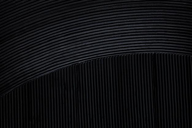 Mascara noir mat pour les cils ou le fond de texture eye-liner