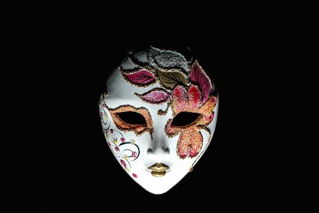 Masque de carnaval isolé