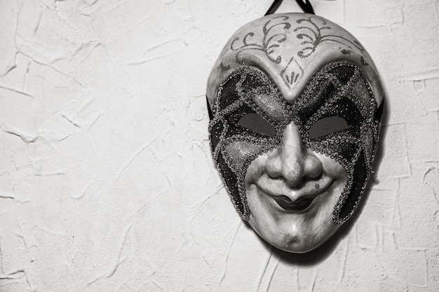 Masque de joker sinistre