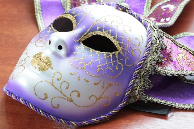 Masque de mascarade isolé photo en gros