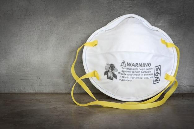 Masque n95 pour la protection contre la pollution, le virus, la grippe et le coronavirus (covid-19). protection pm 2.5. masque facial à air.