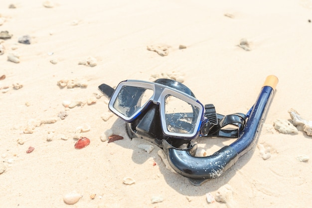 Masque de plongée et tuba, plongée en apnée