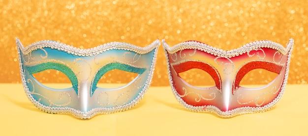Masques vénitiens de carnaval