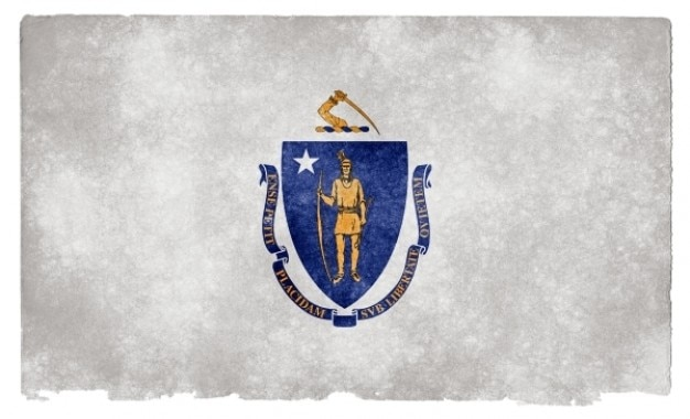 Massachusetts grunge flag