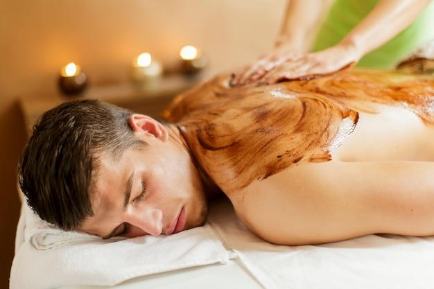 Massage au chocolat