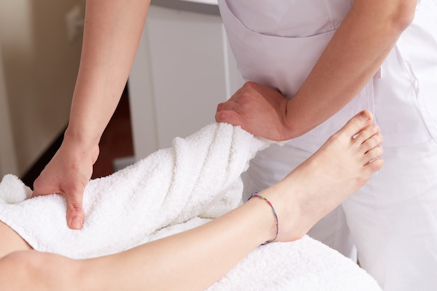 Massage thaï au club de bien-être