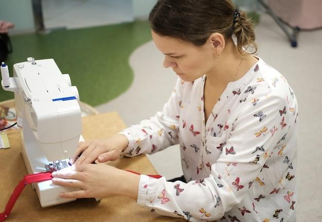 Master class dans les compétences de couture.