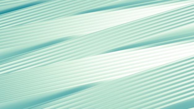 Mat avec une impression en trois dimensions, des vagues et des rayures