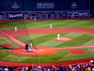 Match de baseball fenway