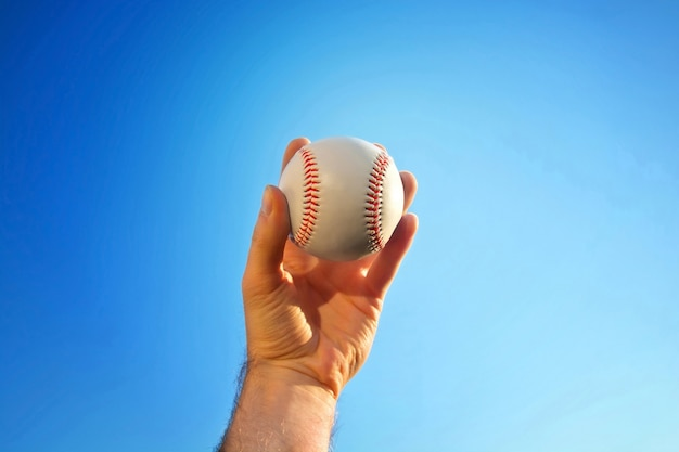 Match de baseball.