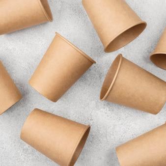 Matériau en carton de vaisselle jetable écologique