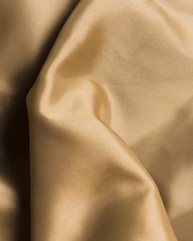 Matériau de crème en tissu de soie pour la décoration de la maison