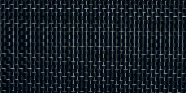 Matériau de fond lustre de l'illustration 3d modèle doublé d'aluminium en acier