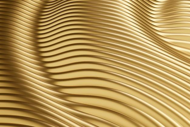 Matériau texturé doré abstrait créatif
