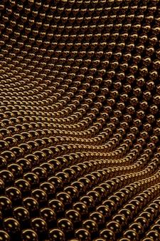 Matériau texturé doré abstrait