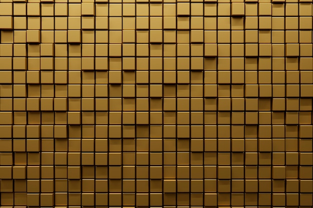 Matériau texturé doré lisse