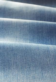 Matériau de tissu denim bleu jeans