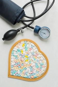 Matériel médical et pilules