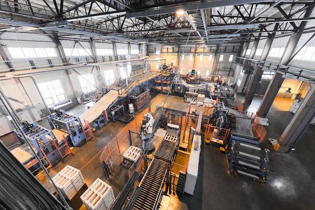 Matériel pour l'industrie de la production de fibre de verre sur le mur de fabrication