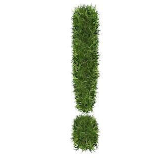 Mathématiques des symboles de l'herbe