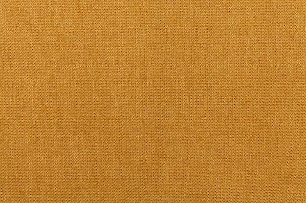 Matière textile ocre