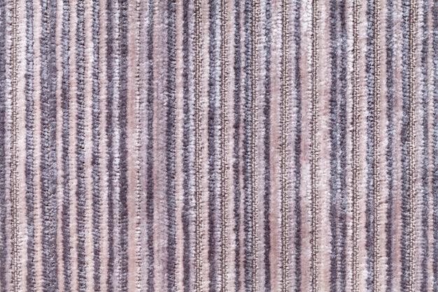 Matière textile tricotée.