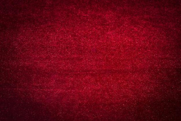 Matière velours rouge