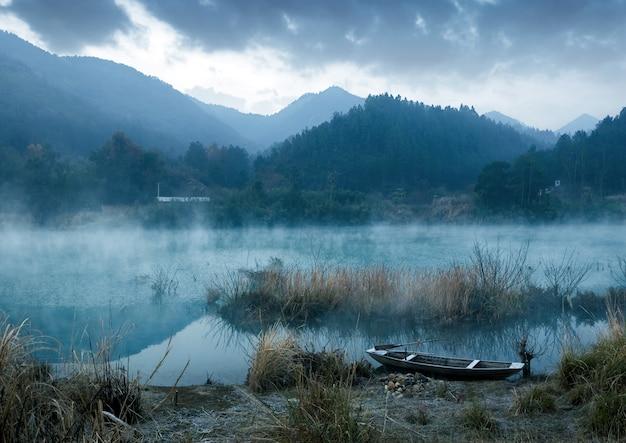 Le matin du lac