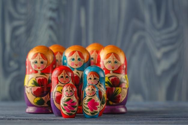 Matreshka traditionnelle russe