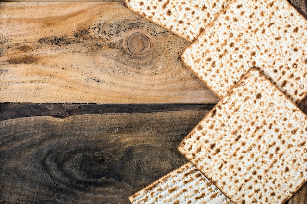 Matza juive à la pâque