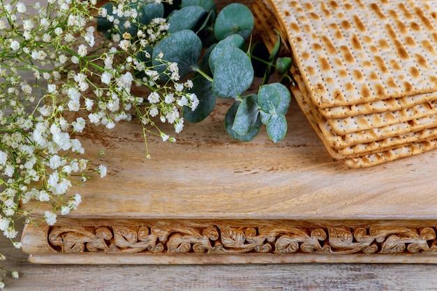 Matzoh de fête célébration pain azyme pâque juive