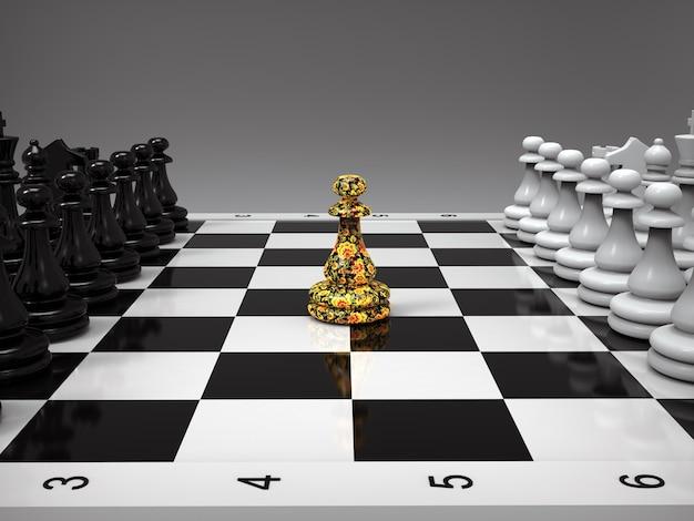 Mec aux échecs
