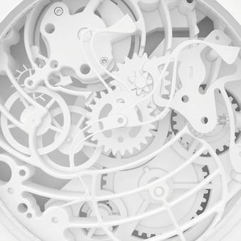 Mécanisme d'horloge vintage
