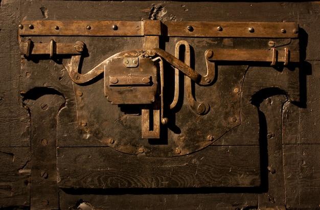 Un mécanisme vieux de 200 ans, coffre fort italien