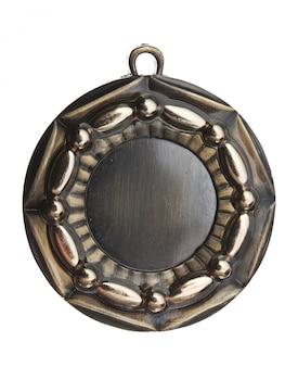 Médaille isolé sur fond blanc