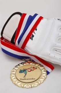 Médaille d'or - le taekwondo, le podium