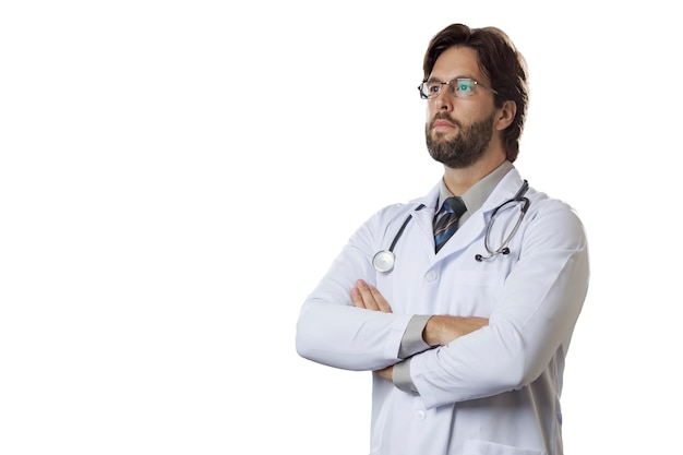 Médecin de sexe masculin.
